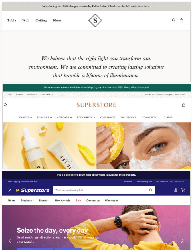 Superstore Shopify Customizable Theme