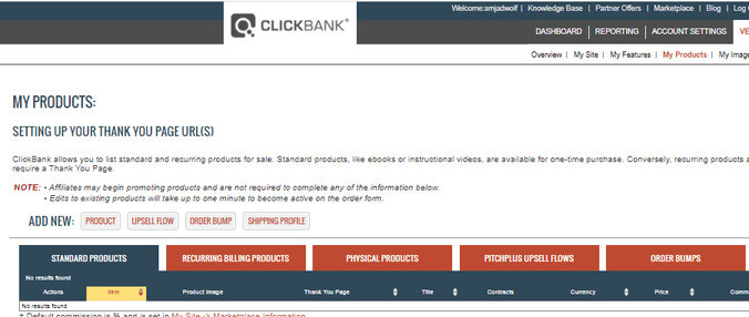 Find Affiliates on ClickBank