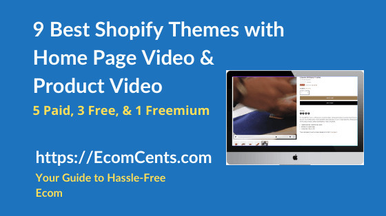 Best Shopify Themes with Video