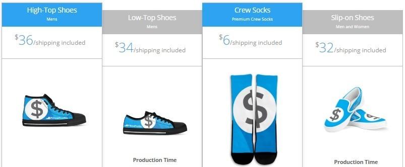 Print On Demand Shoes & Socks