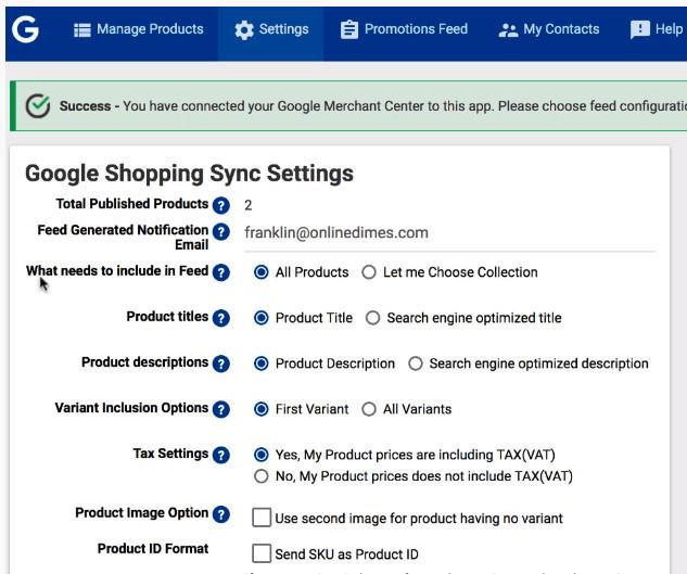 Google Shopping Ads Shopify App