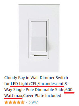 Choosing a Dimmer Switch to Save