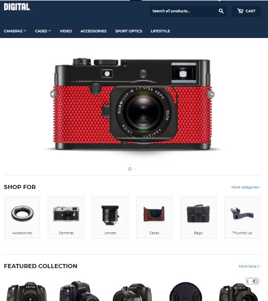 Supply Free Shopify General Store Theme