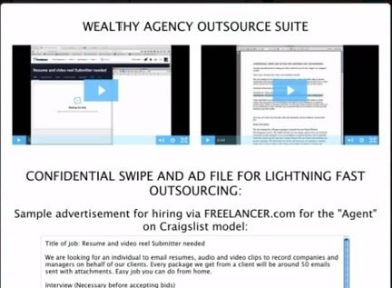 Wealthy Agency Outsourcing Suite