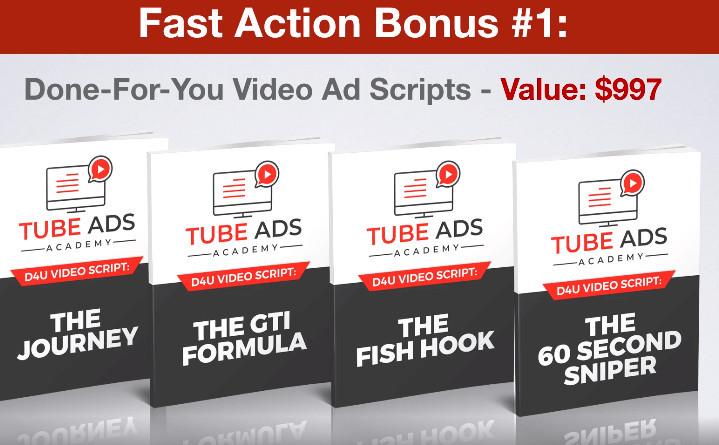Tube Ads Academy Bonus