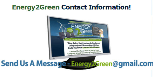 Energy2Green Support
