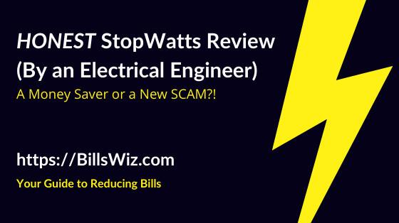 StopWatt Scam Review