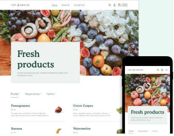 Express Grocery Delivery Service Shopify Theme