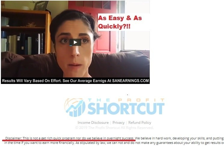 Get Rich Quick With The Profit Shortcut