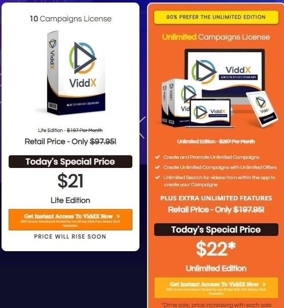 Viddx Software Price & Discount