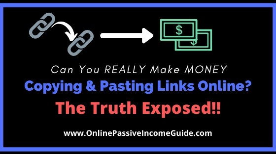 Get Paid To Copy & Paste Links