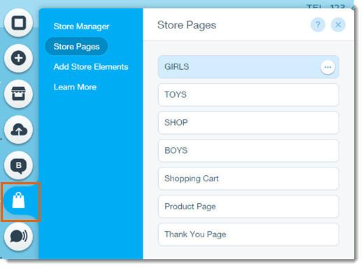 Wix Store Dashboard