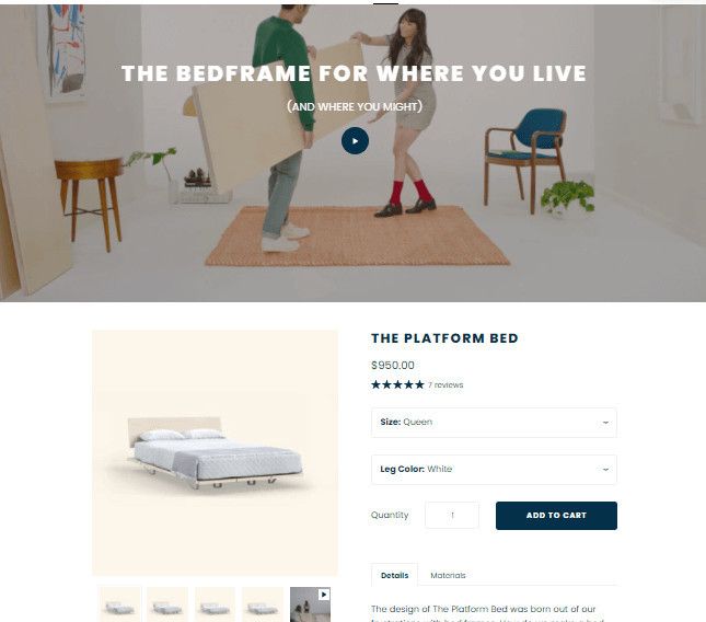 Startup Shopify Single Product Theme