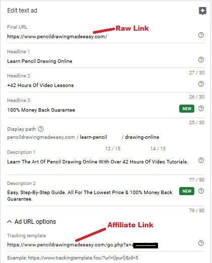 Google Ads Direct Linking For Affiliates