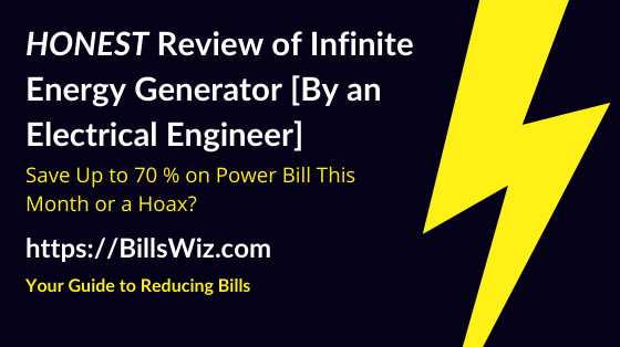 Infinite Energy Generator Scam Review