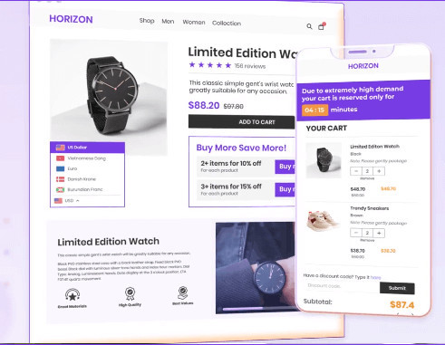 EcomSolid Premium Shopify Theme for Free
