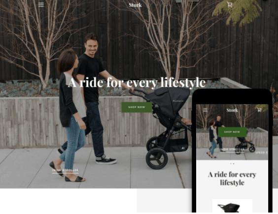 Narrative Free Shopify Service Theme
