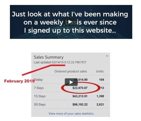 AZ Millionaire Method Fake Screenshots