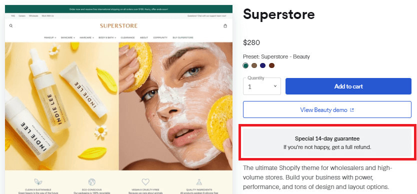 Superstore Shopify Paid Theme Free Trial