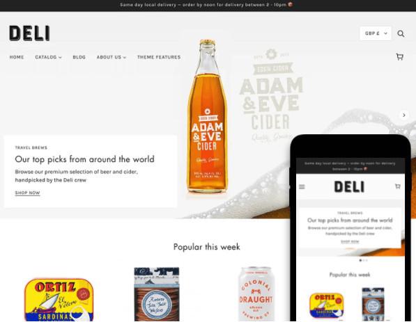 Blockshop Shopify Grocery Store Theme