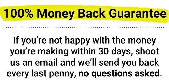 6 Steps To Freedom Money Back Guarantee