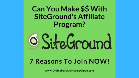 SiteGround Affiliate Program Review - Is It Worth It Or Not?