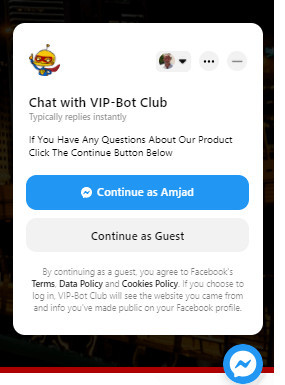 VIP Bot Affiliate Club FB Messenger Method