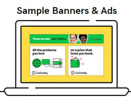 GoDaddy Affiliate Banner Ads