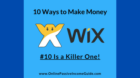 How to Make Money with Wix