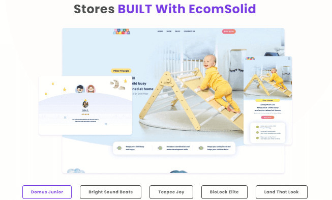 EcomSolid Demo Stores