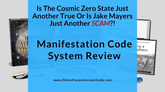Jake Mayers Manifestation Code System Review