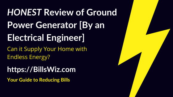 Ground Power Generator Scam Review