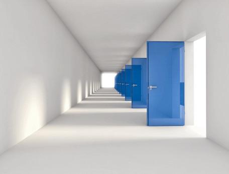Closed Doors Reduce Apartment Winter Electric Bill