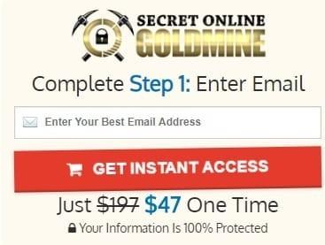 Secret Online Goldmine Review