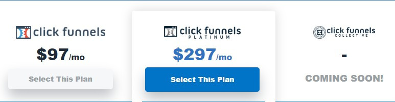 ClickFunnels High Prices