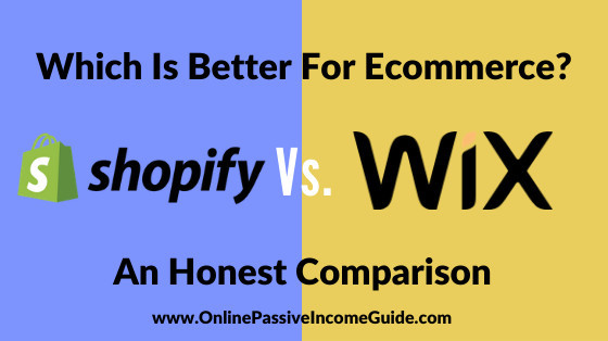Shopify Vs. Wix Ecommerce: Which Is Better?