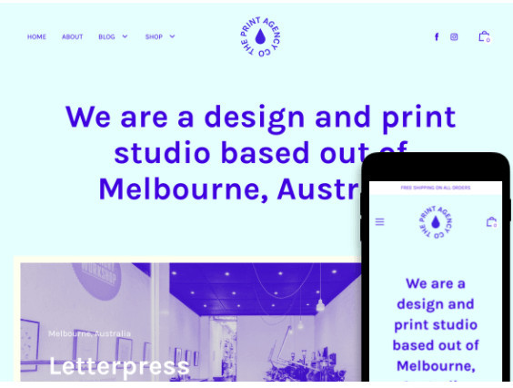 Editorial Professional Services Shopify Theme