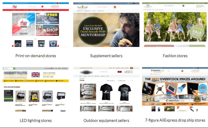Shoptimized Store Examples