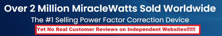 MiracleWatt Customer Reviews