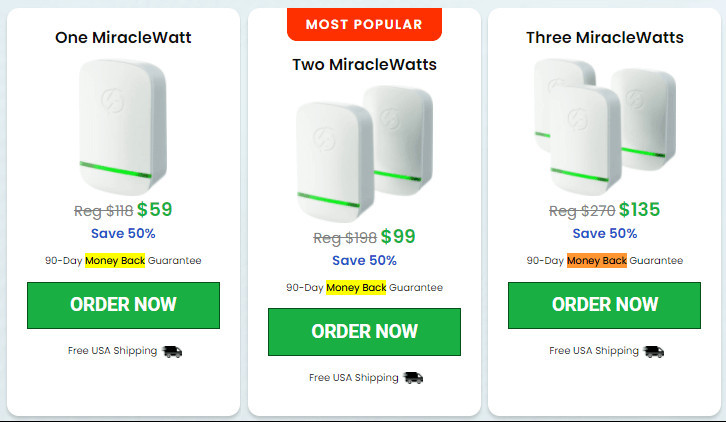 MiracleWatt Device Price