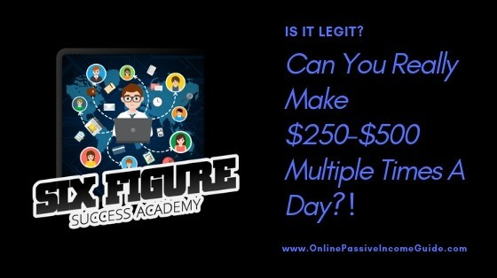 Six Figure Success Academy  Course Creation Giveaway Of The Day