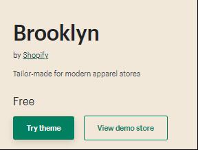 Brooklyn Theme Price