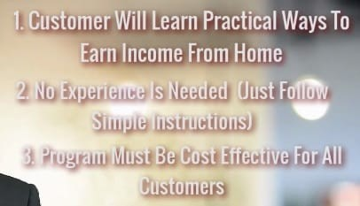 How Income Blueprint Works