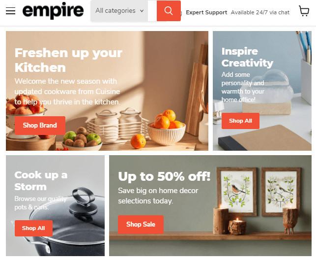 Empire General Shopify Store Theme