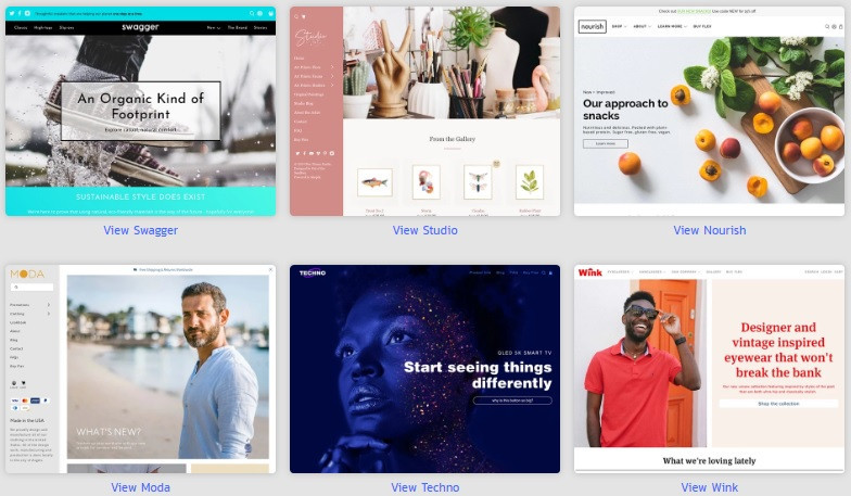 Flex Shopify Store Ready Templates