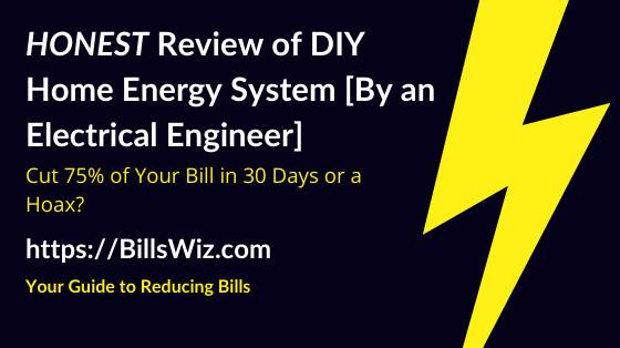 DIY Home Energy Scam Review