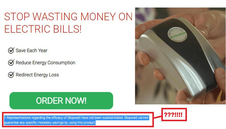 StopWatt Energy Saver Scam