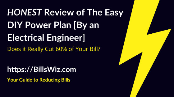 Easy DIY Power Plan Scam Review