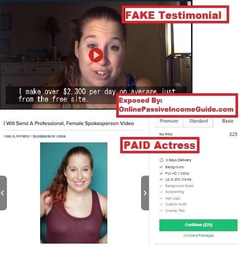Money Sucking Websites Testimonials
