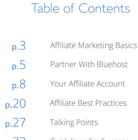 Bluehost Affiliate Resources